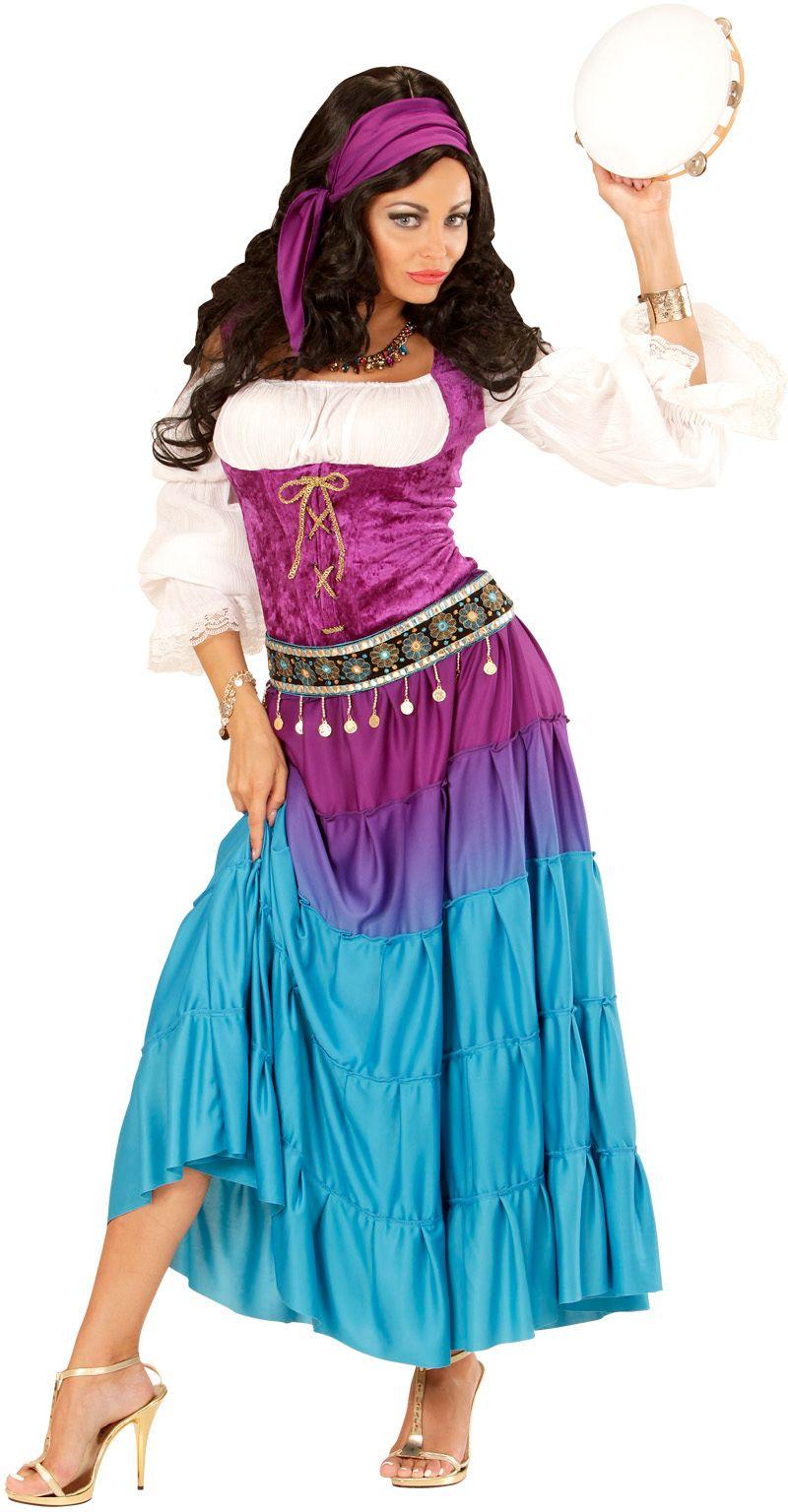 Luxe zigeunerin kostuum