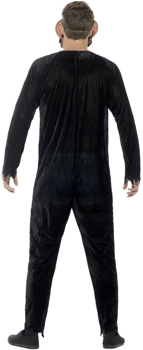Luxe zombie aap kostuum