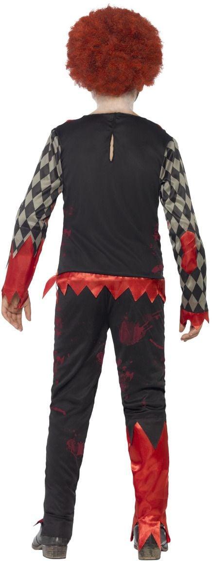 Luxe zombie clowns kostuum jongens