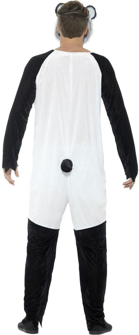 Luxe zombie panda kostuum