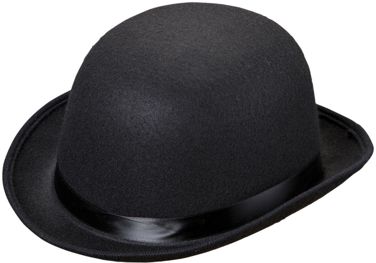 Luxe zwarte bolhoed