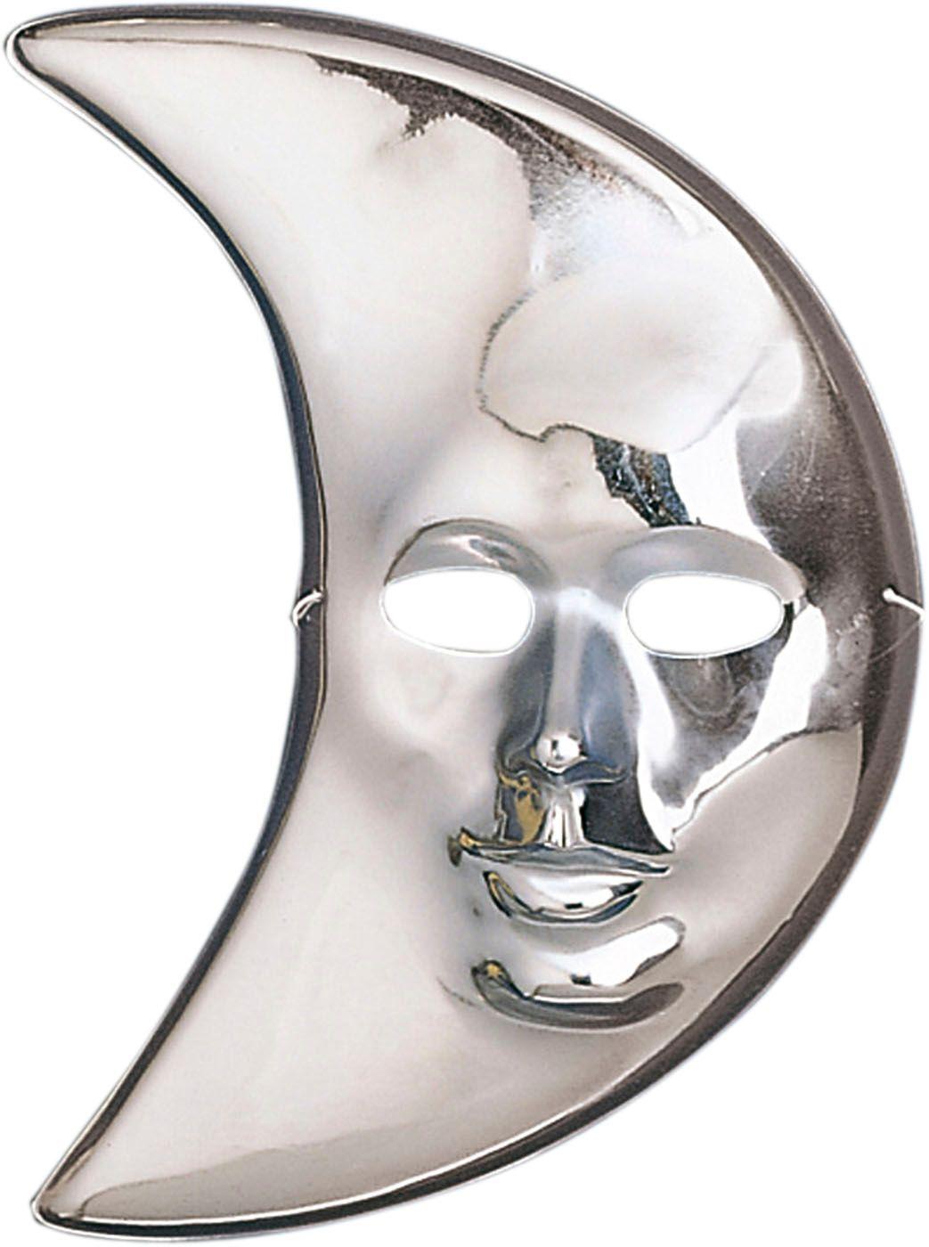 Maan masker van pvc