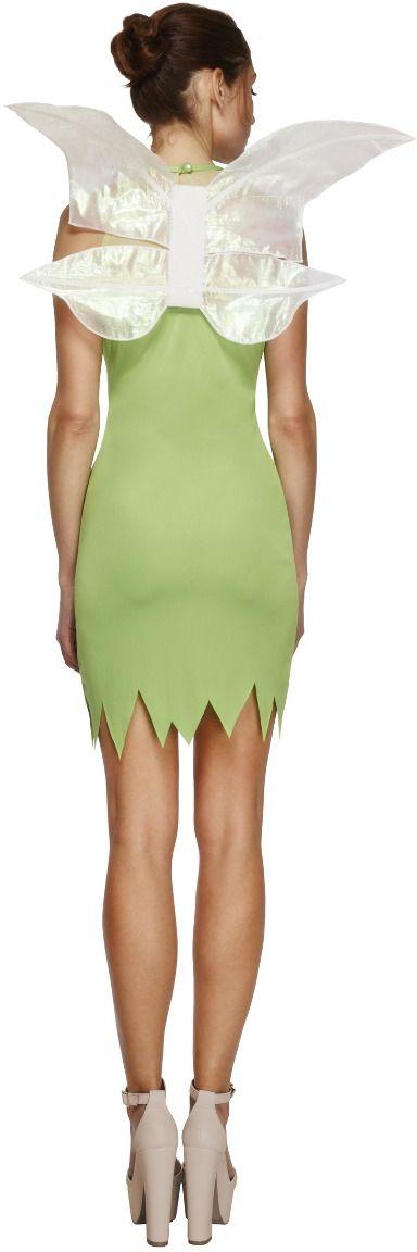 Magische fee groene jurkje