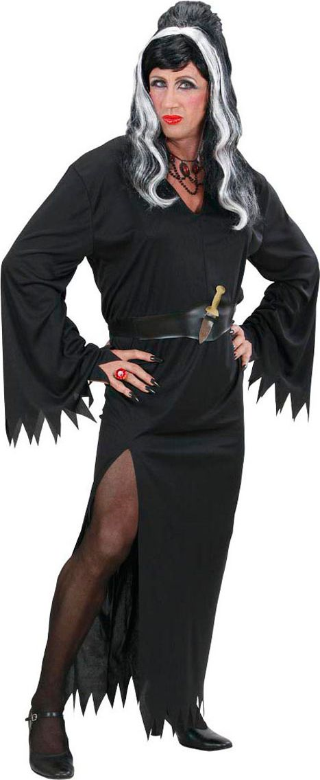 Mannelijke Elvira kostuum