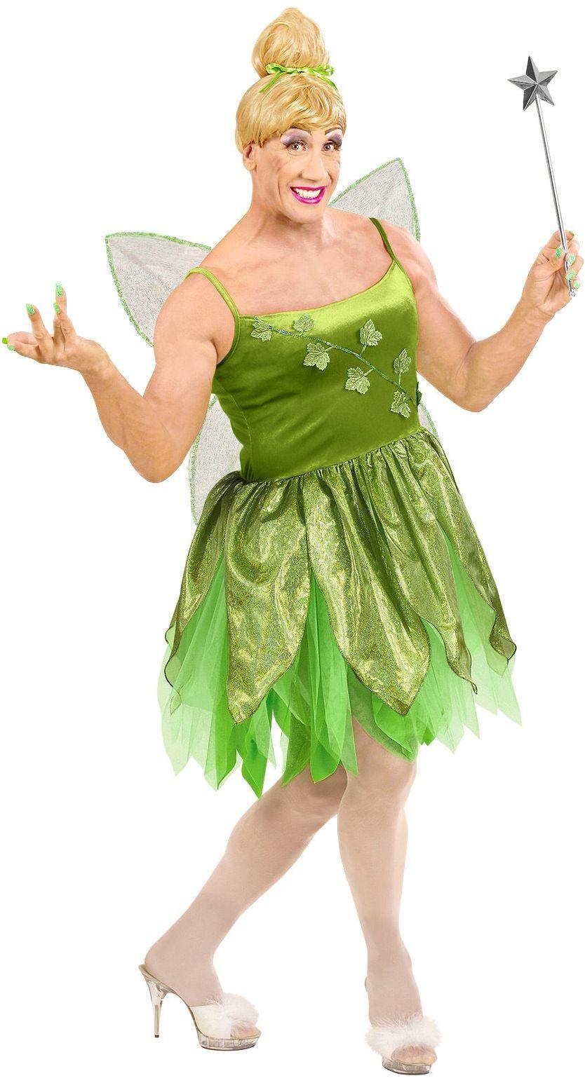 Mannelijke feeën jurk