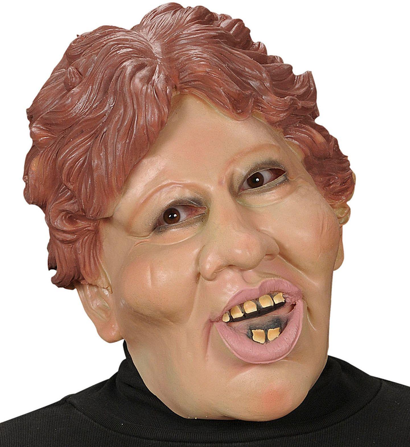 Margaret karikatuur masker