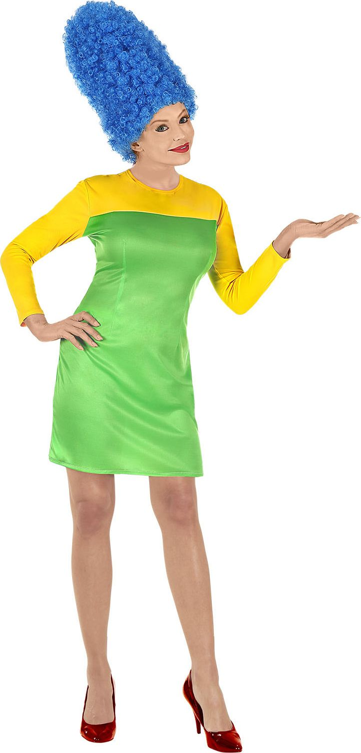 Marge Simpson jurk vrouwen