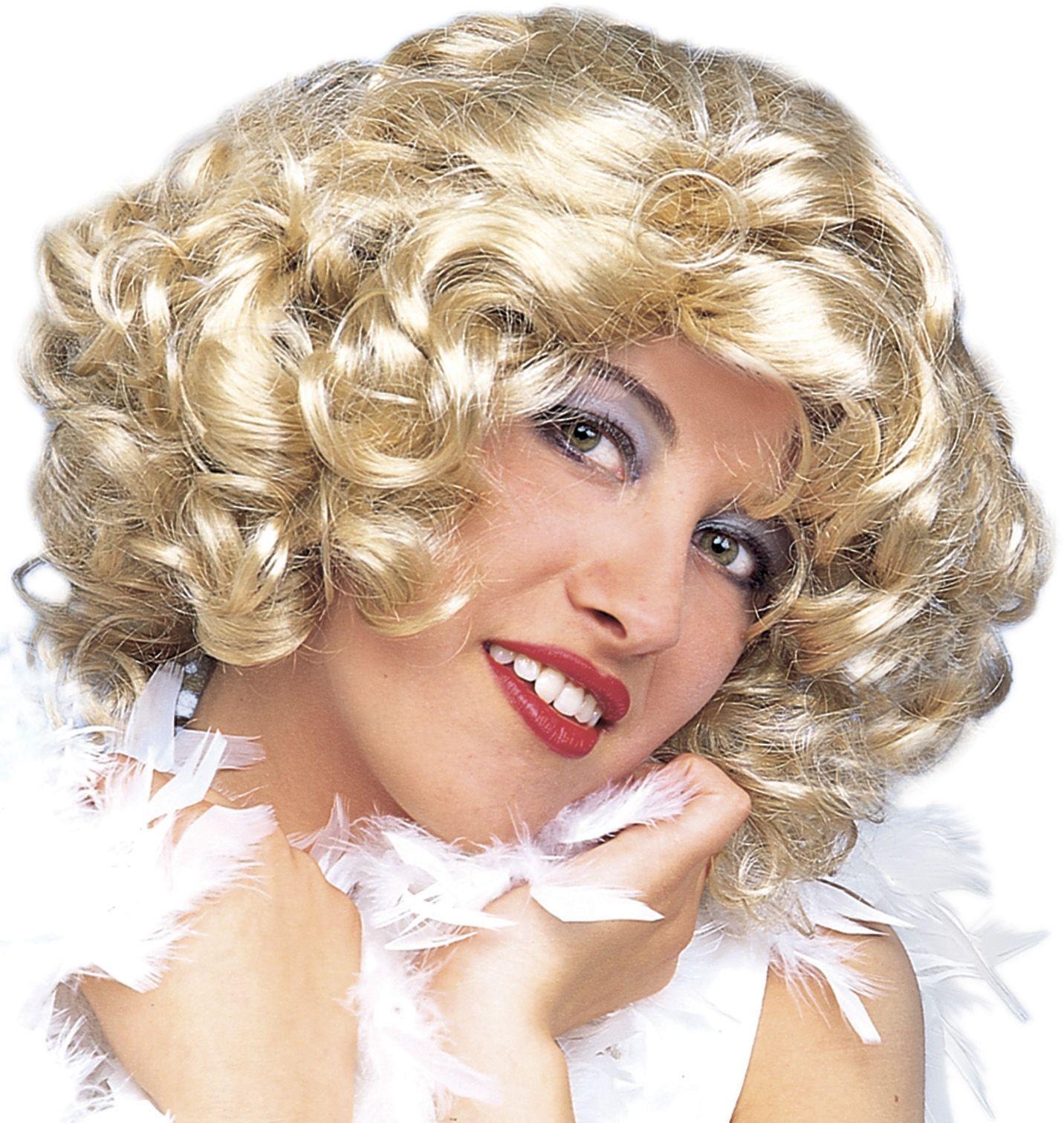 Marilyn Monroe blonde pruik