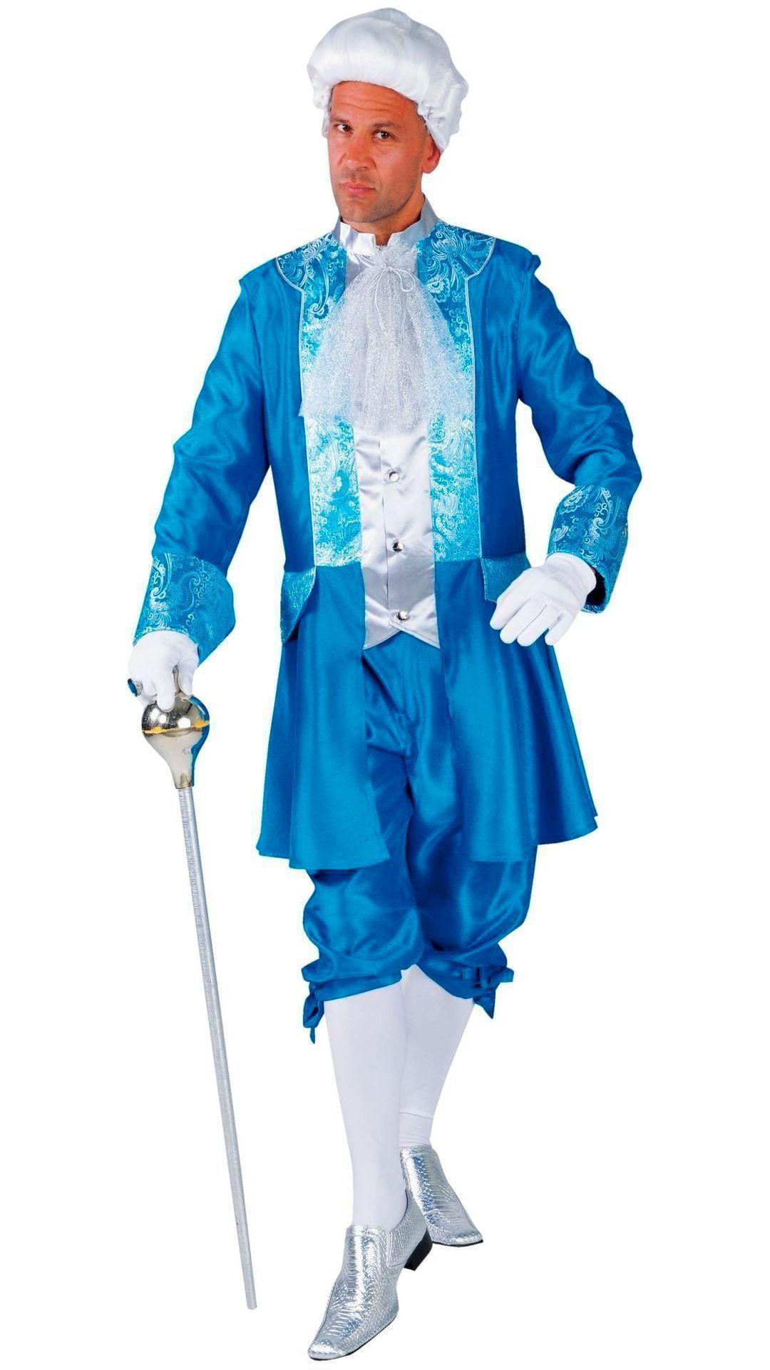 Markies outfit blauw mannen