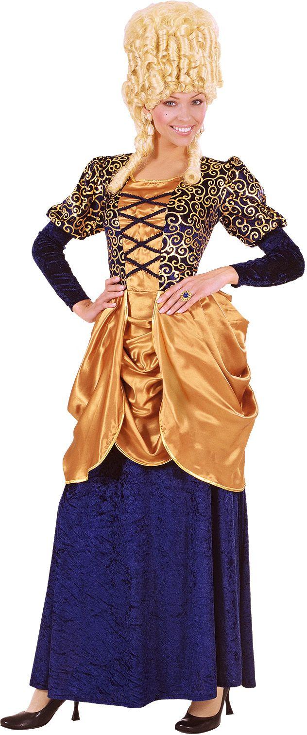 Markiezin blauw kostuum