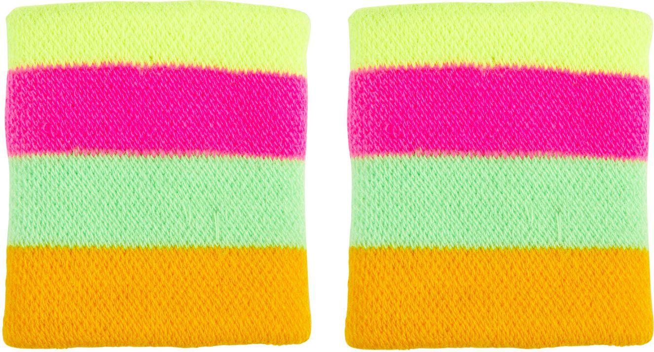 Meerkleurige neon polsbanden