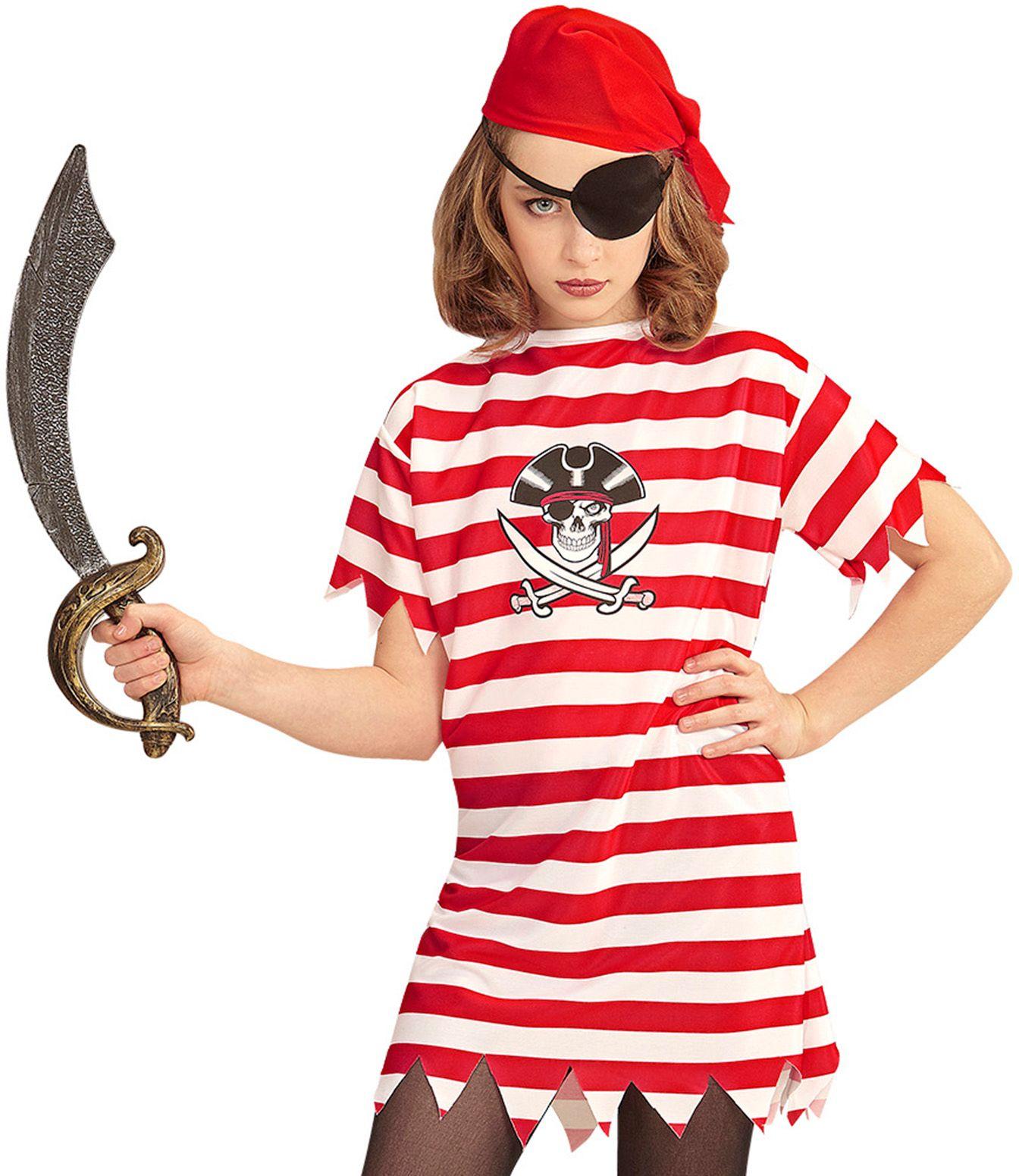 Meisjes piraat carnaval 158