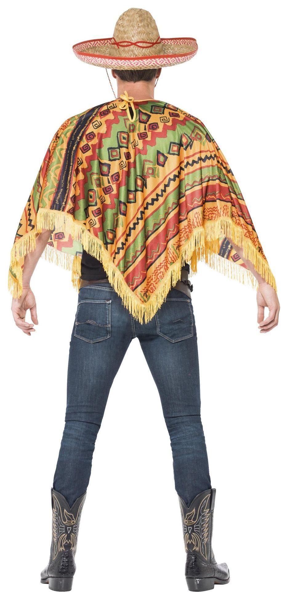 Mexicaans poncho kostuum