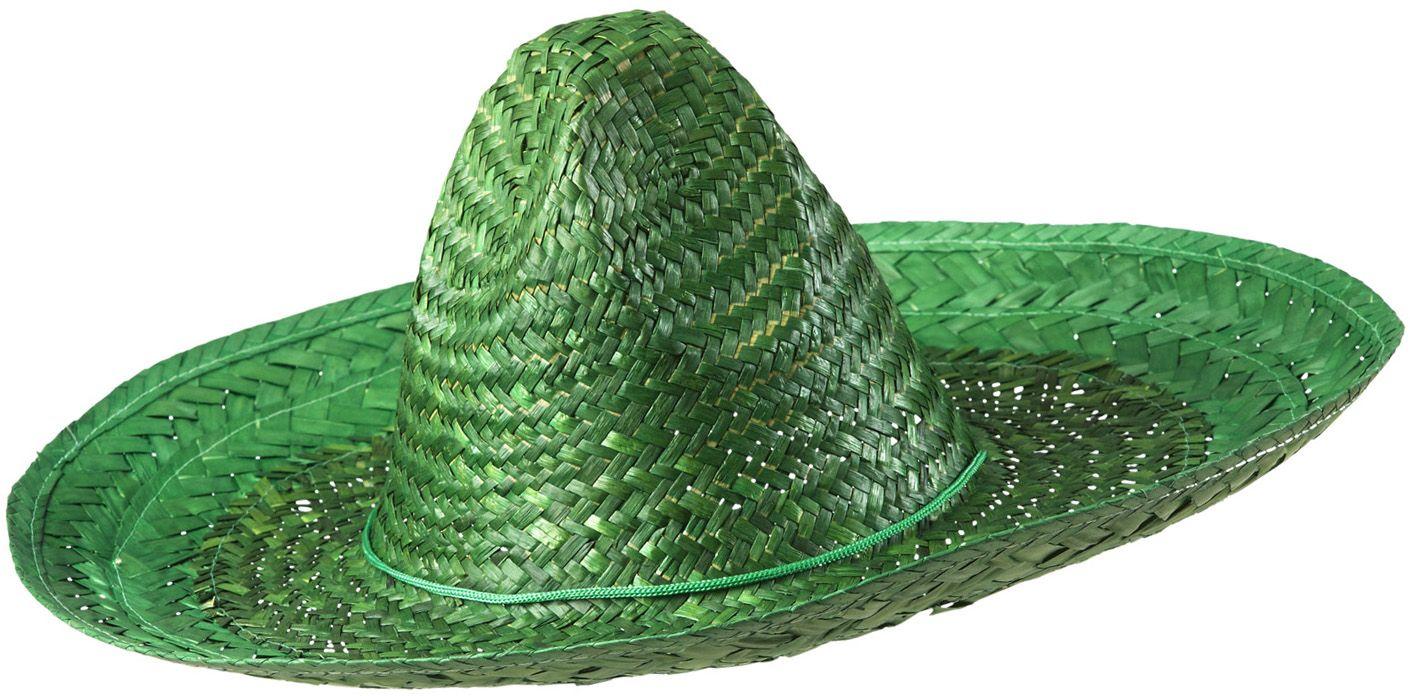 Mexicaanse hoed groen