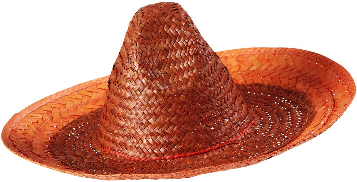 Mexicaanse hoed oranje