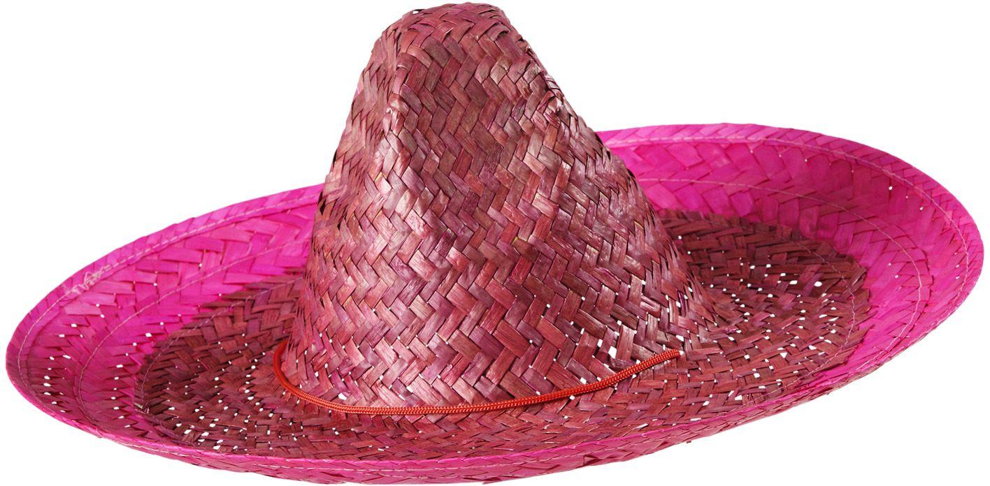 Mexicaanse hoed roze