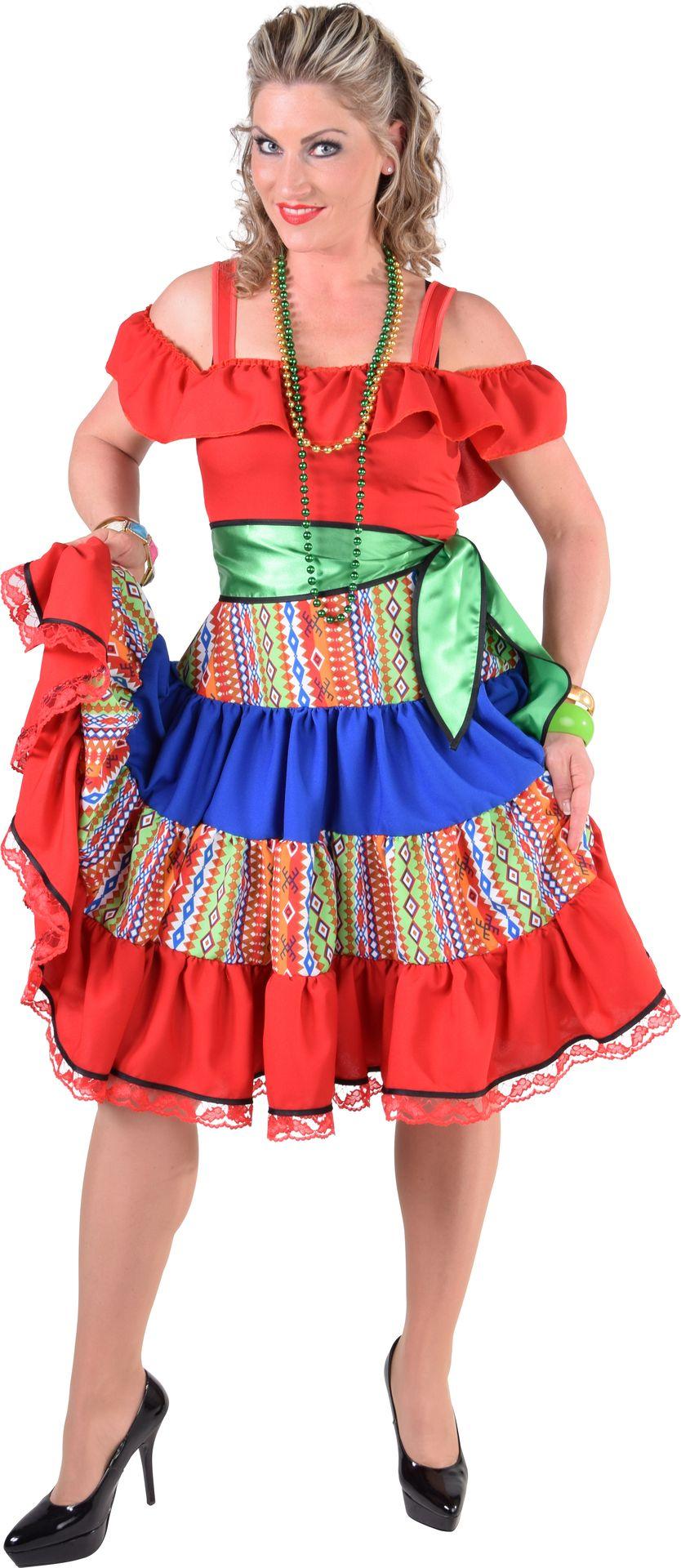 Mexicaanse jurk vrouwen