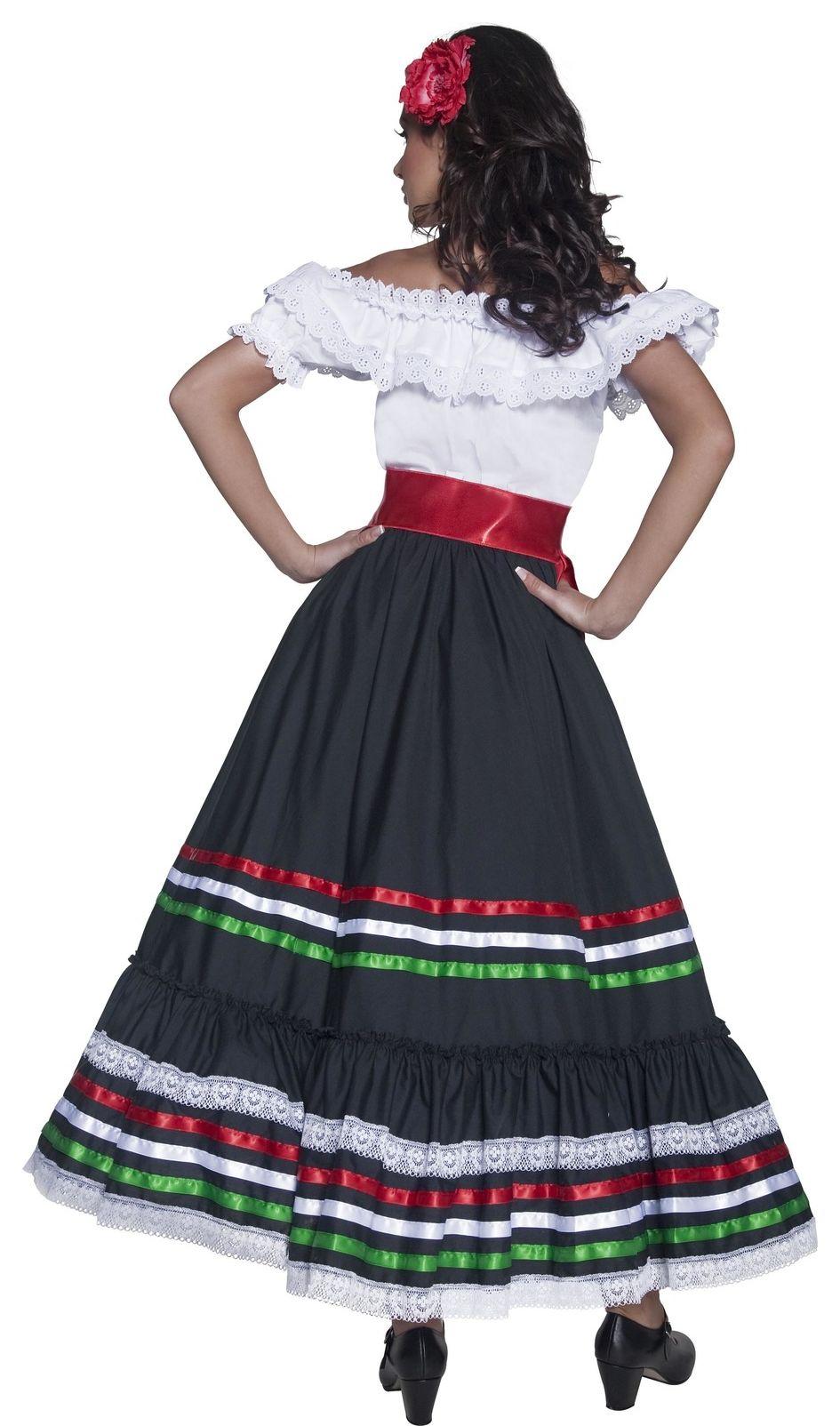Mexicaanse lange jurk