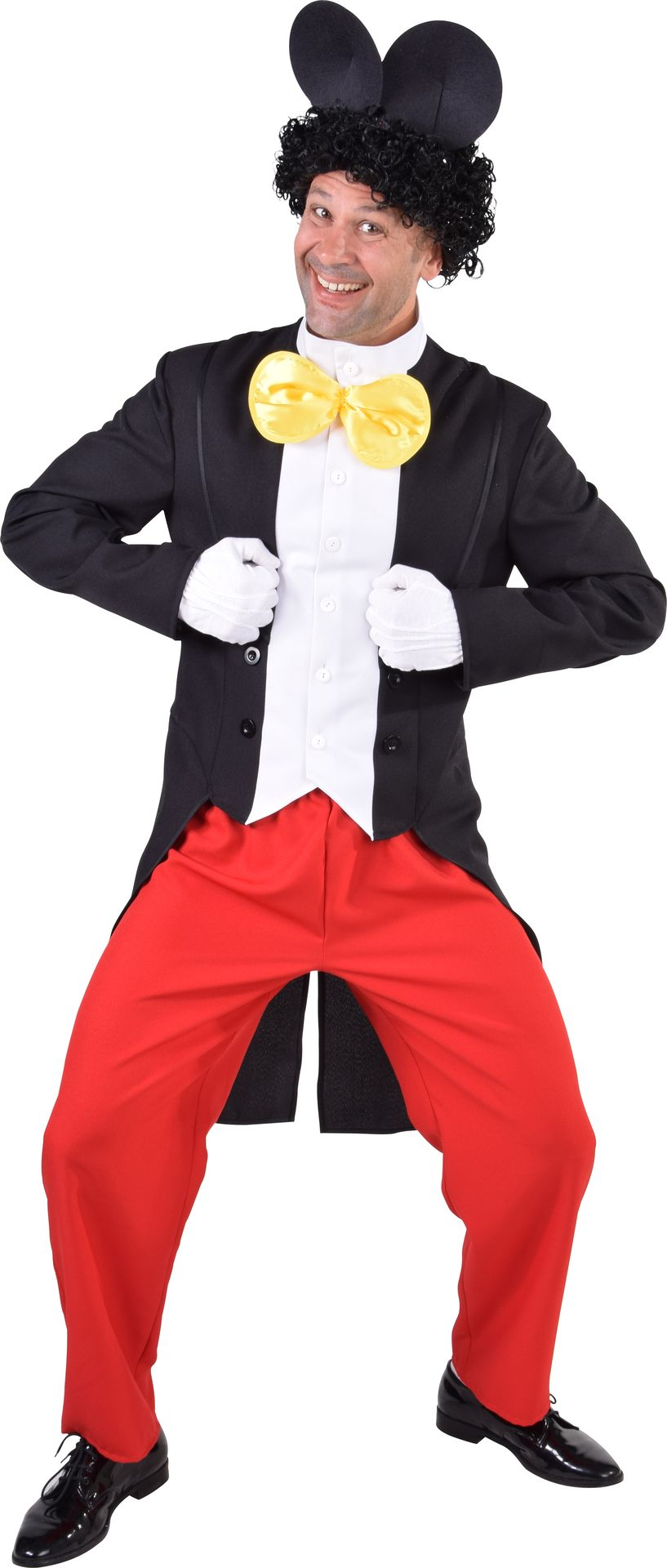 Mickey Mouse kostuum heren