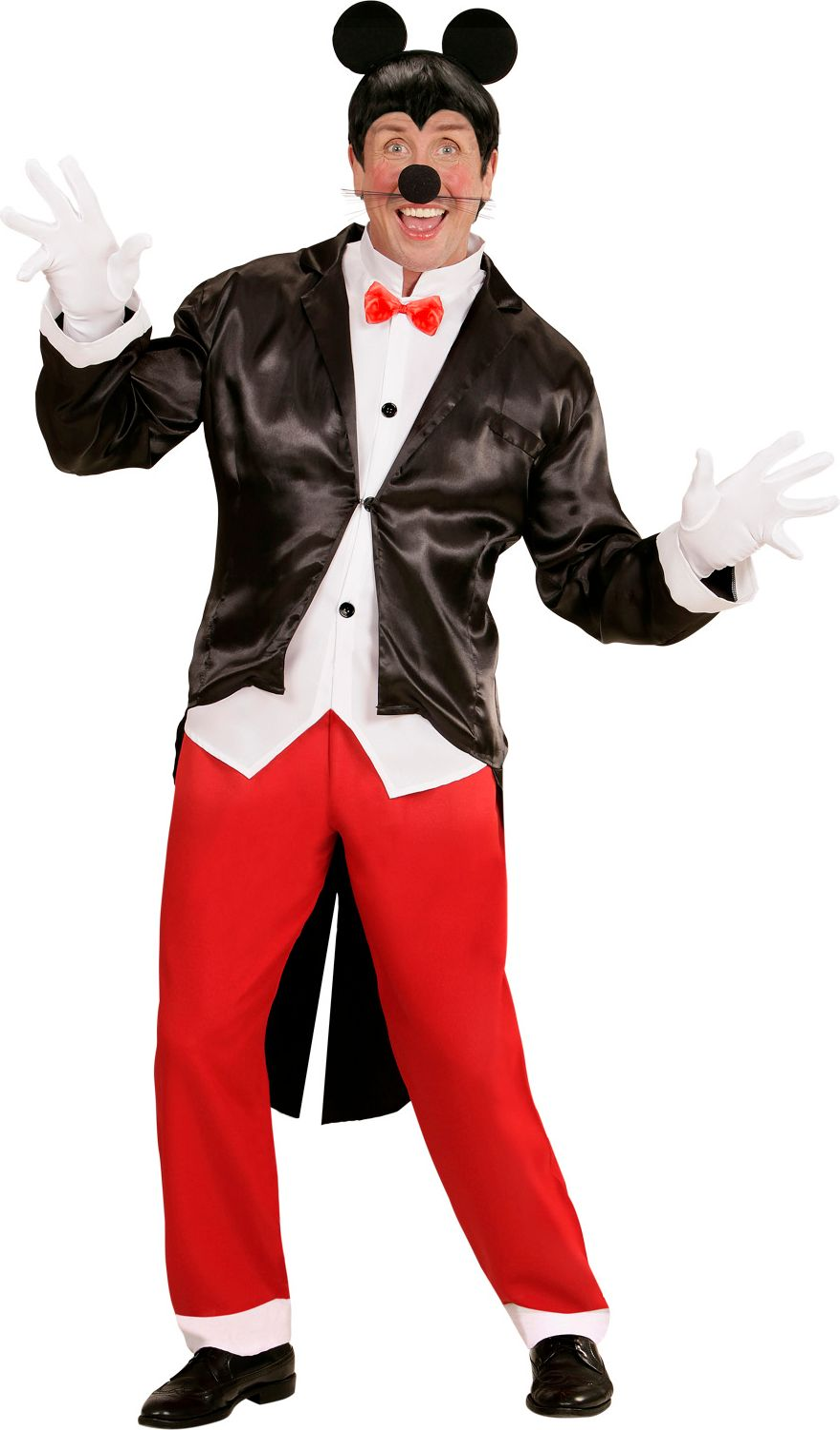 Mickey Mouse kostuum man