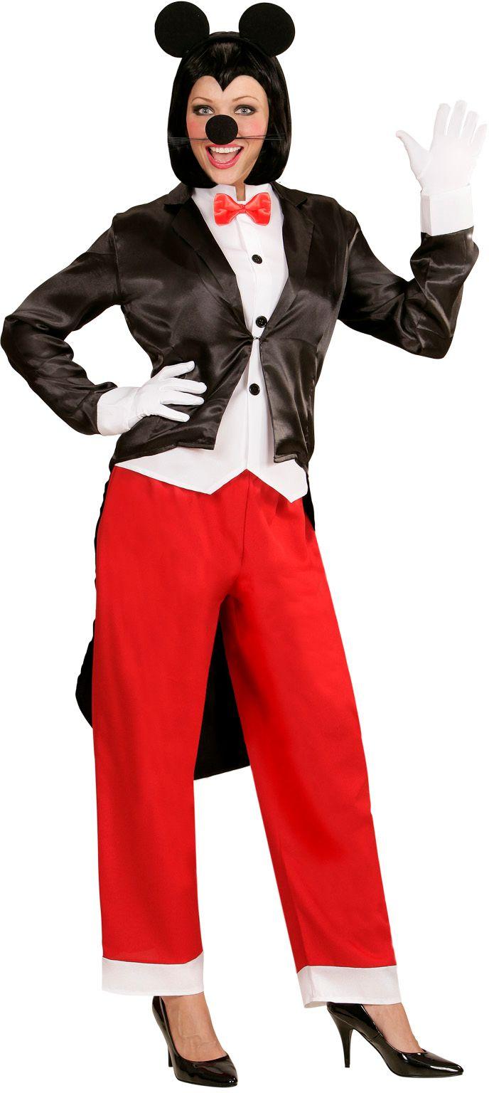 Mickey Mouse kostuum vrouw