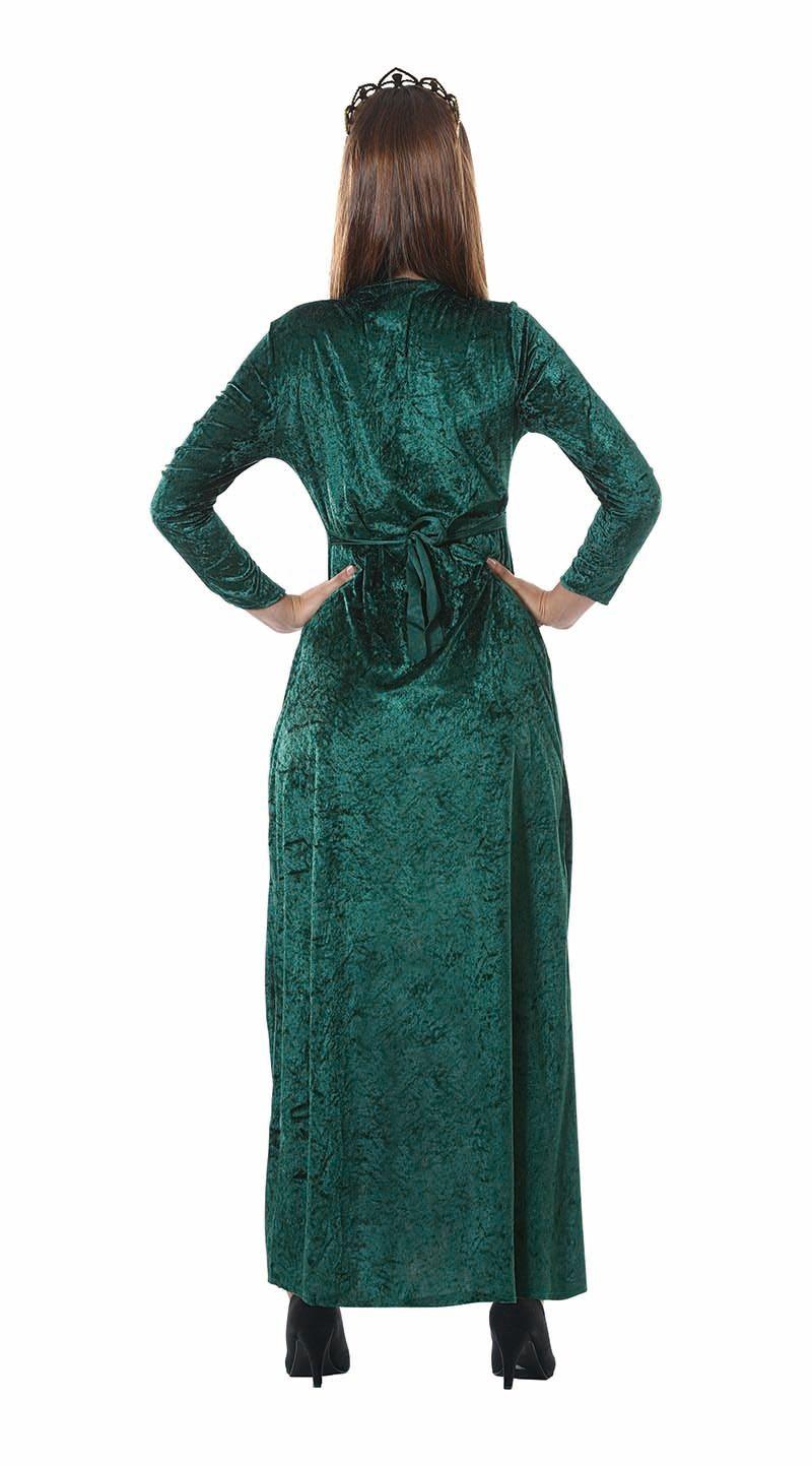 Middeleeuwen koningin jurk