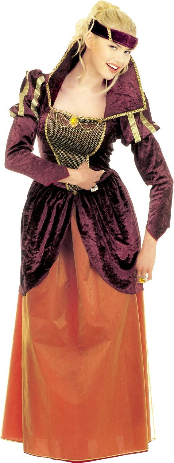 Middeleeuwen Koningin kostuum