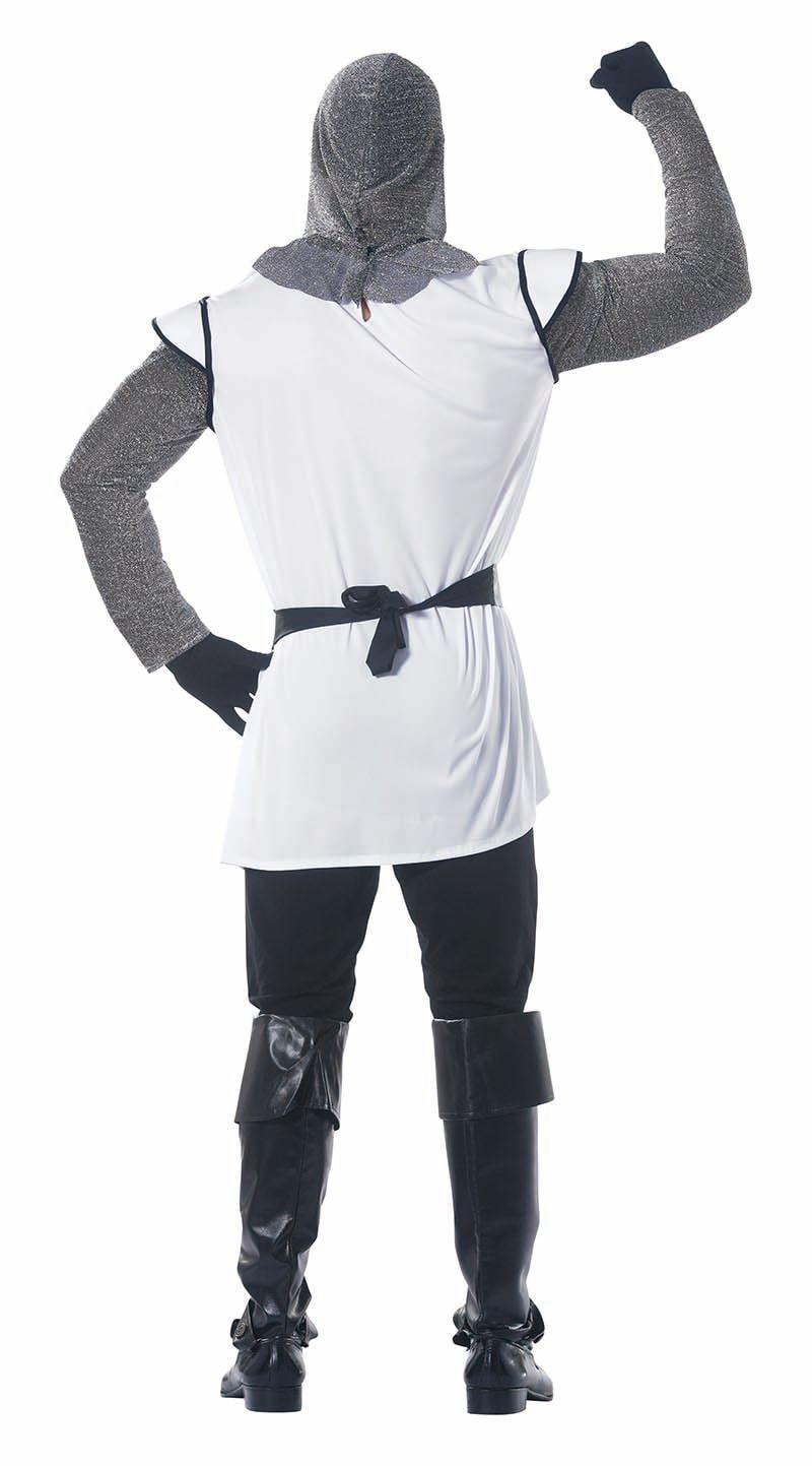 Middeleeuwen ridder wit