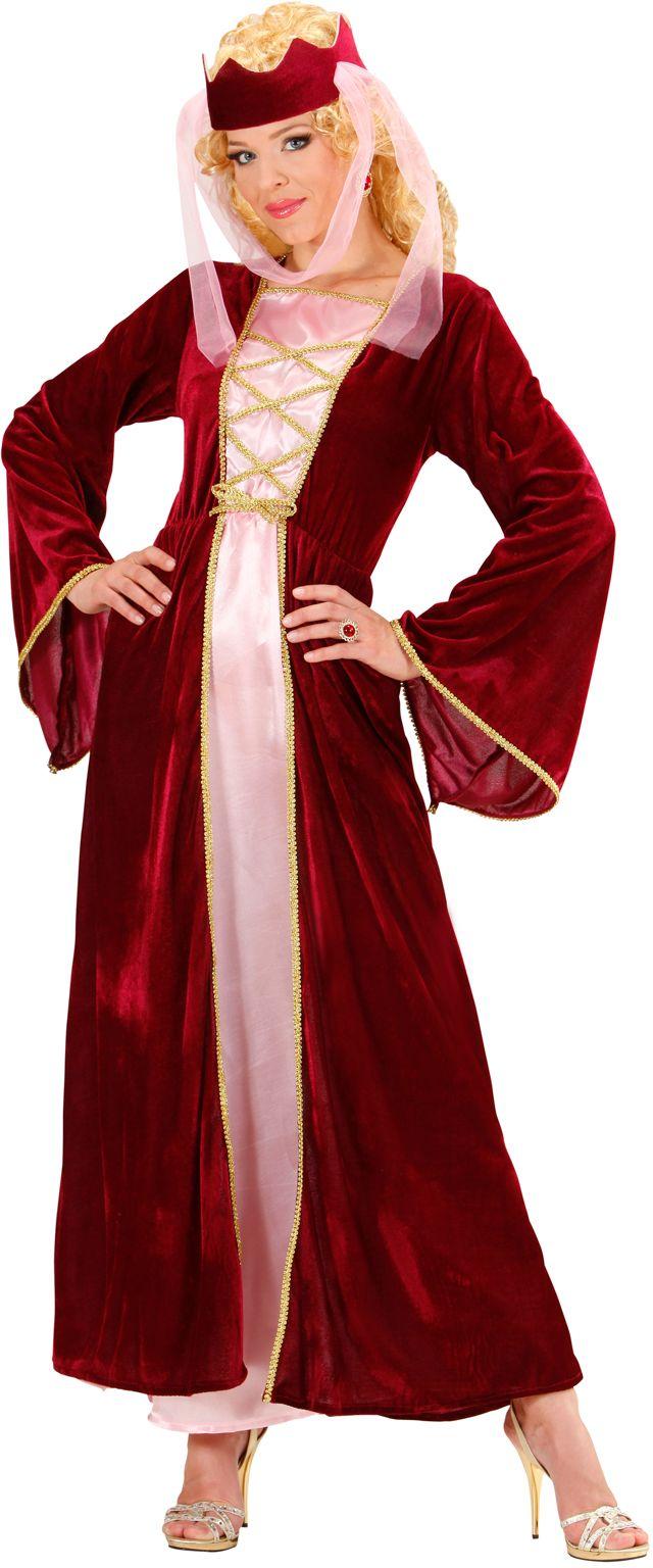Middeleeuws Koningin pak