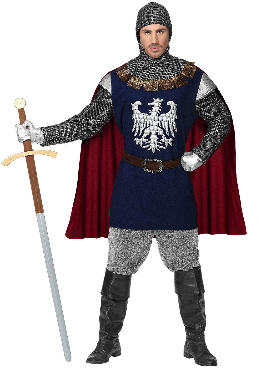 Middeleeuws ridder pak heren