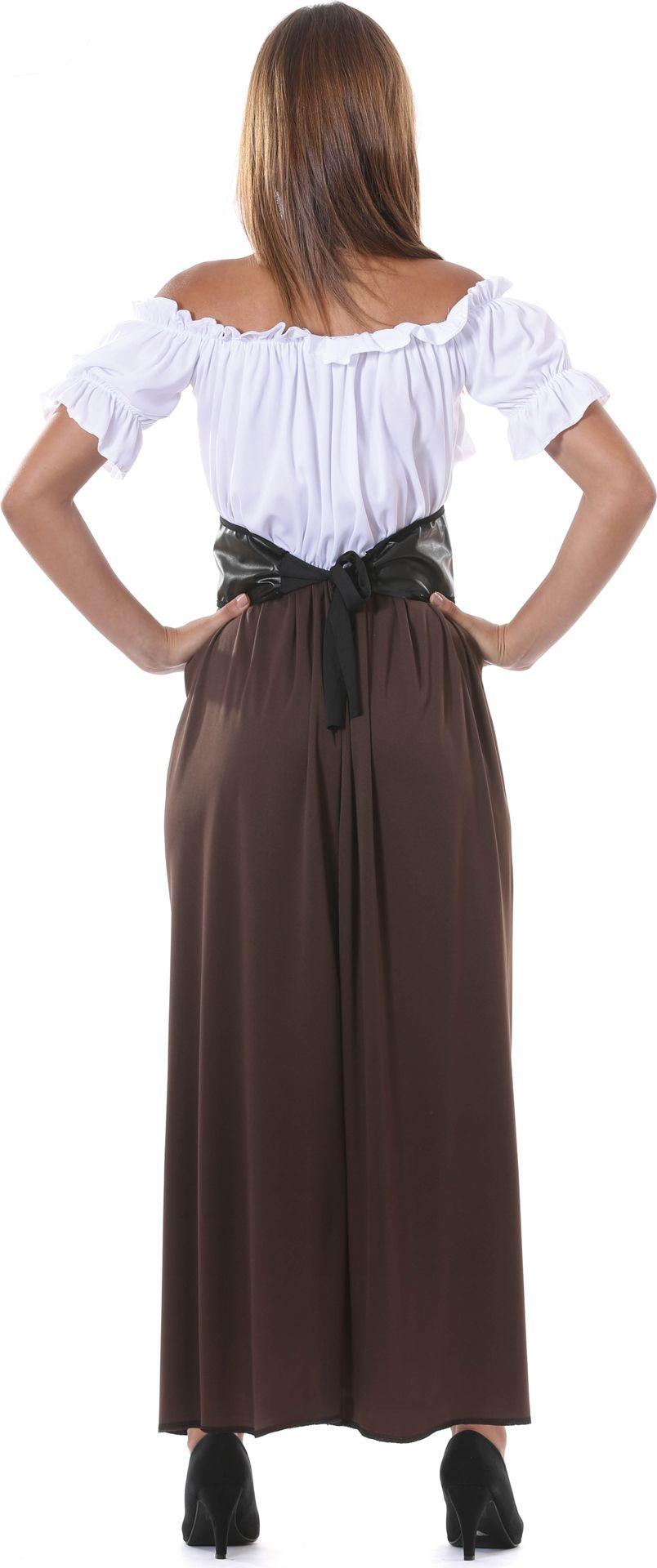 Middeleeuwse dame kostuum