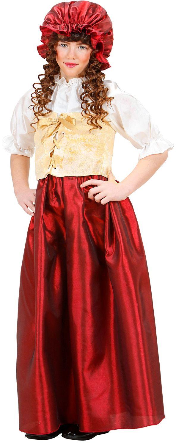 Middeleeuwse jurk meisjes