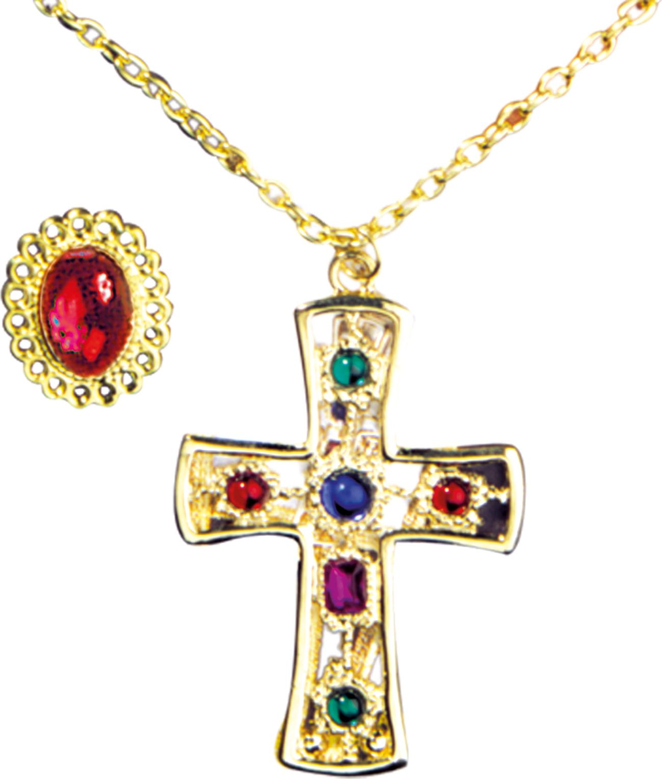 Middeleeuwse koning sieraden set