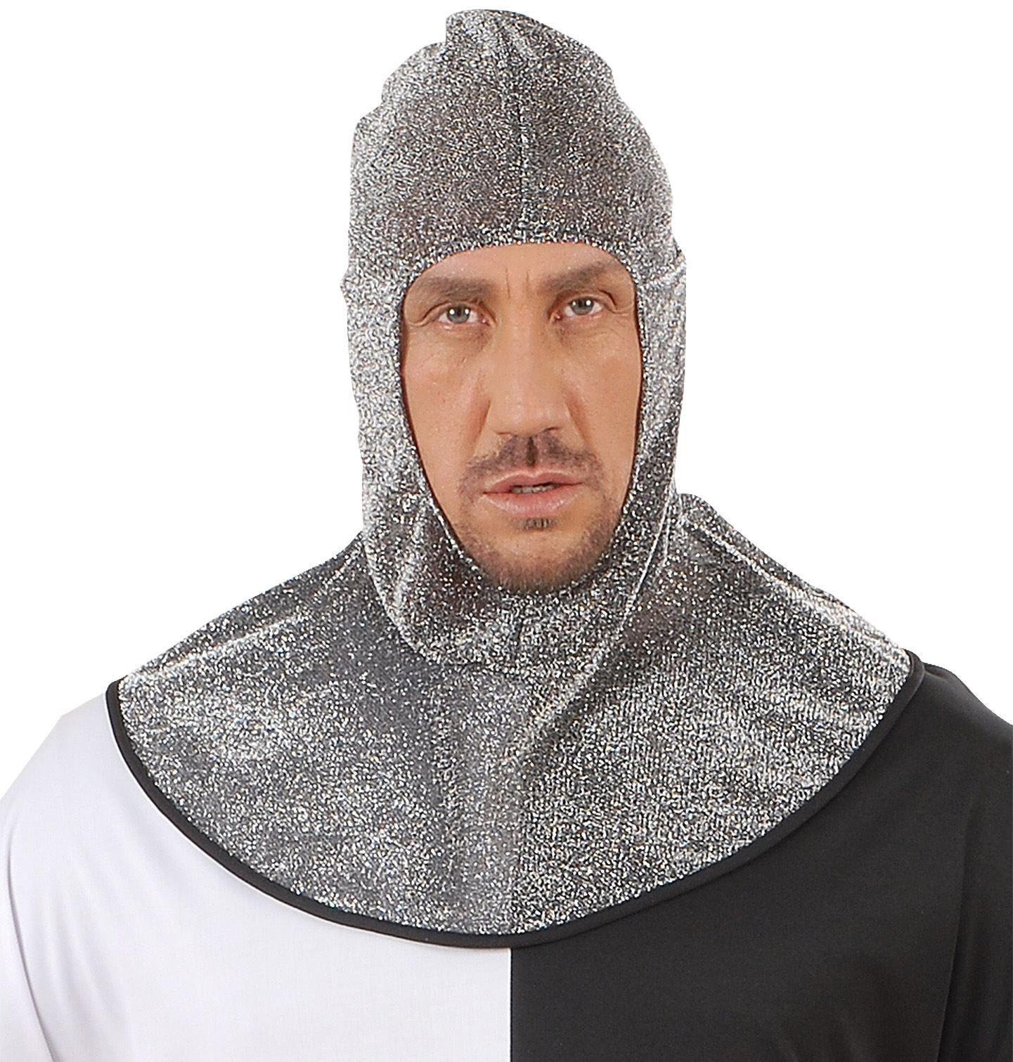 Middeleeuwse krijger kap