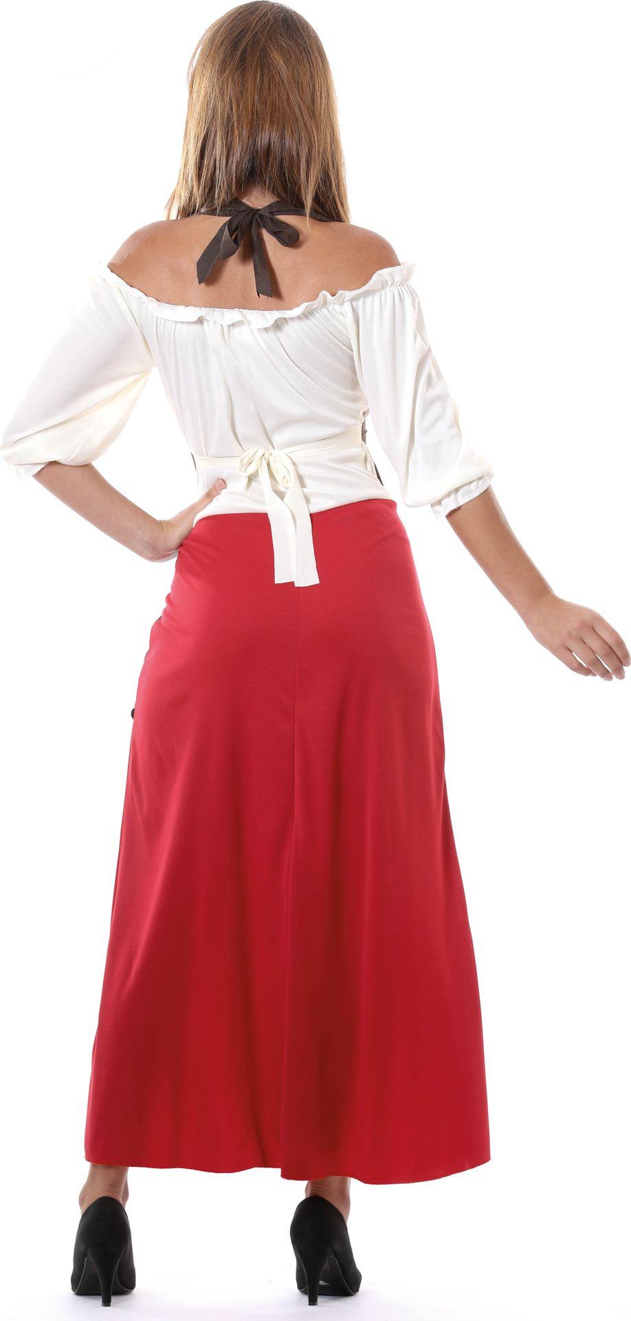 Middeleeuwse lange jurk