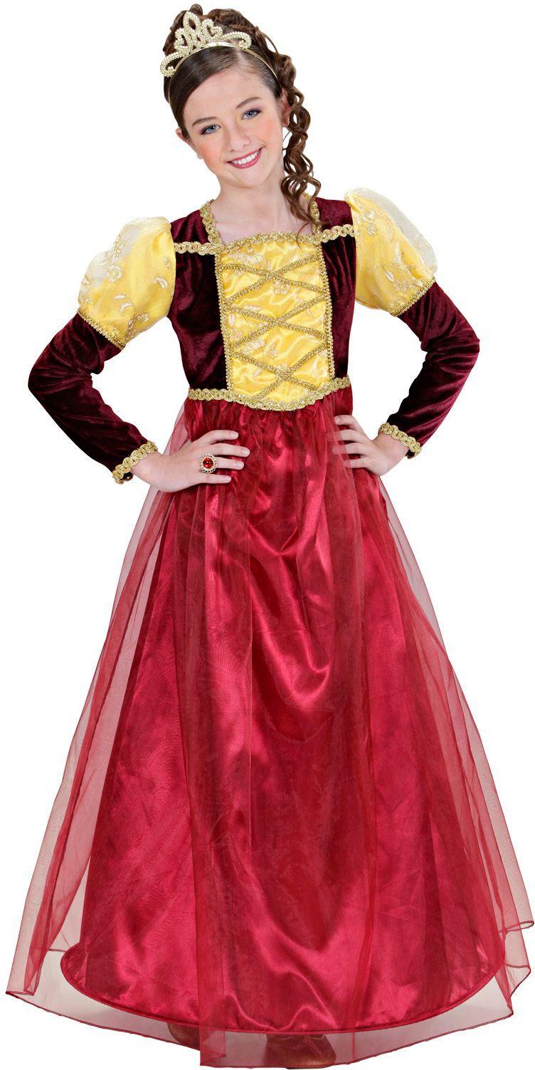 Middeleeuwse prinsessen jurk