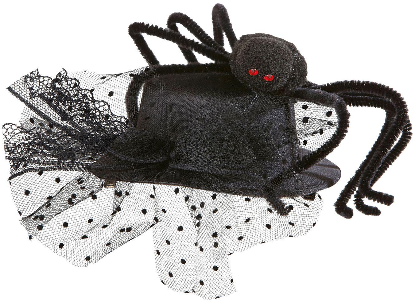 Mini hoedje met spin