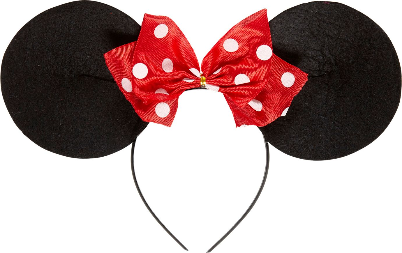 Minnie Mouse hoofdband met strik
