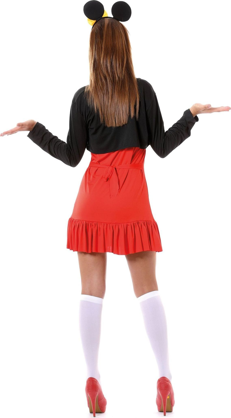 Minnie Mouse jurk dames