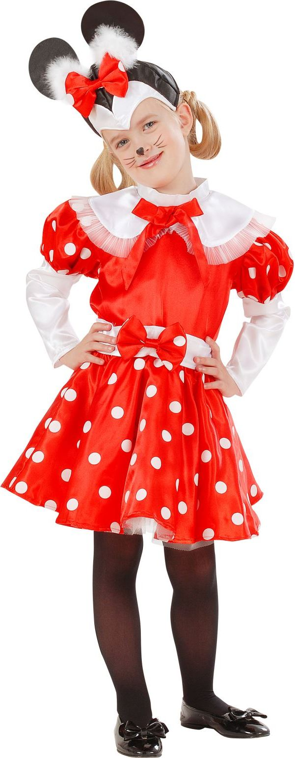 Minnie mouse jurk kind