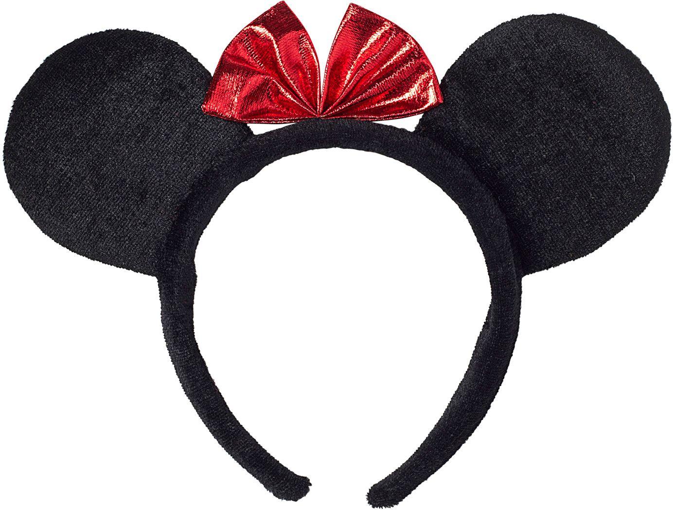 Minnie Mouse oren met strik