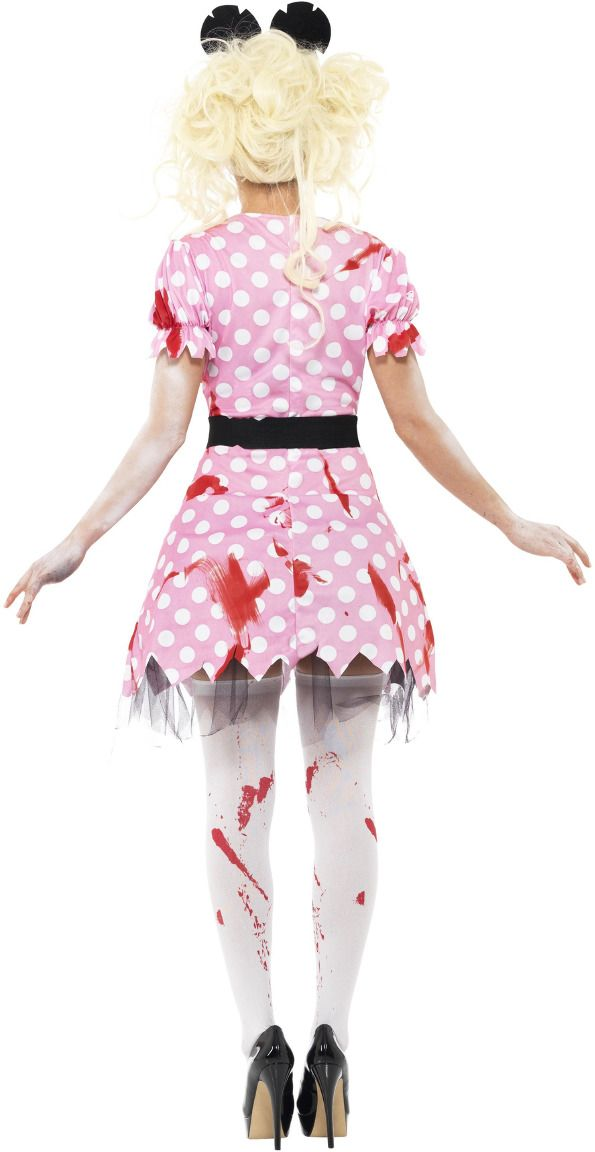 Minnie mouse zombie outfit