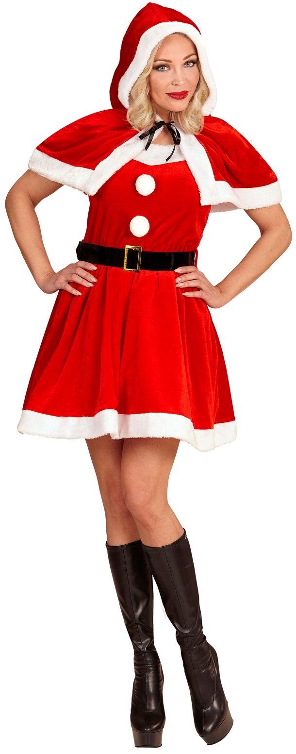 Miss santa kostuum