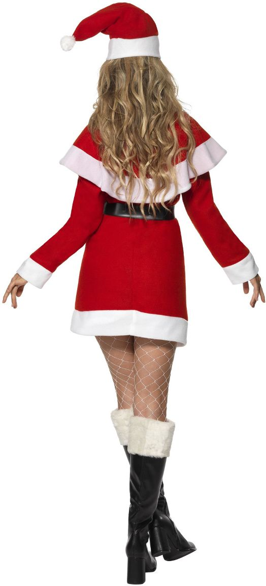 Miss santa outfit rood
