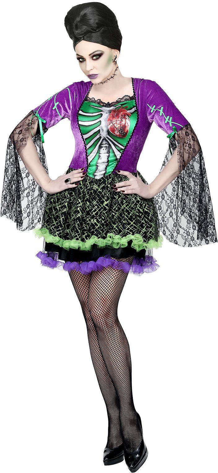 Monster bruid jurk dame