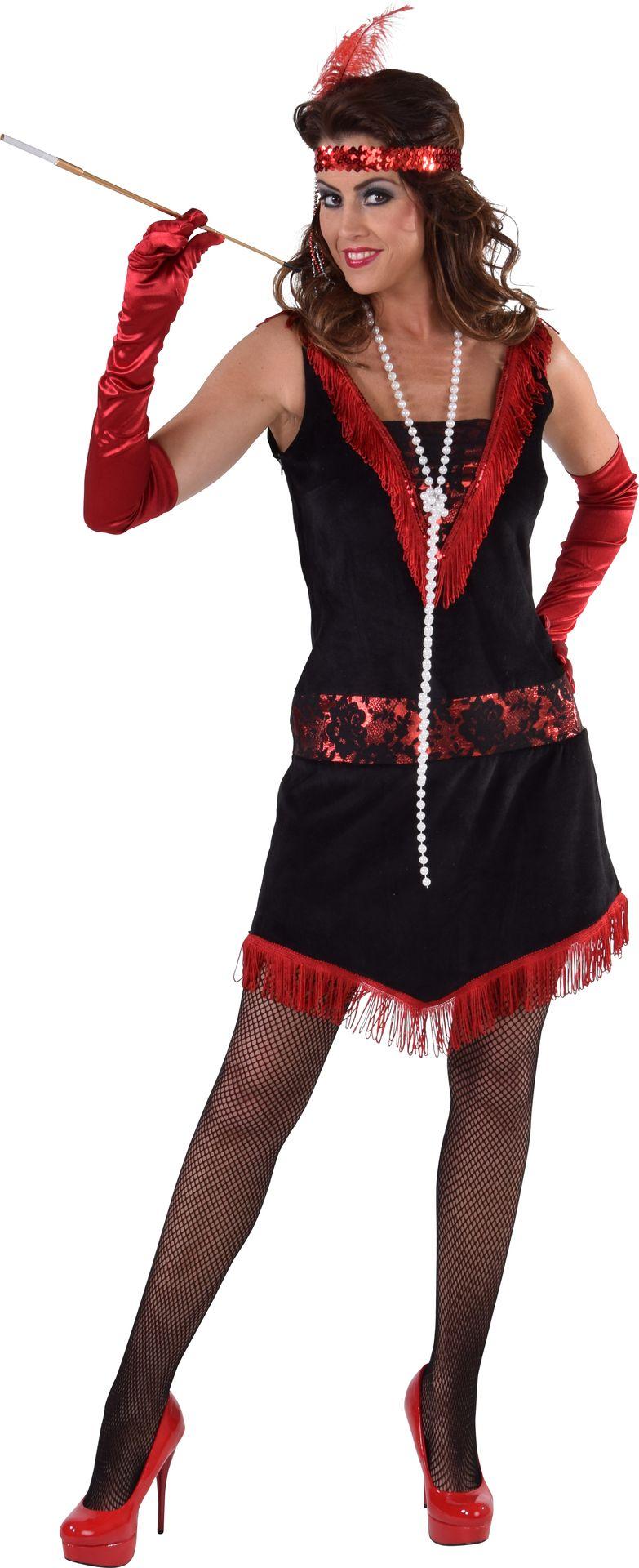 Moulin rouge jurkje 20s vrouwen