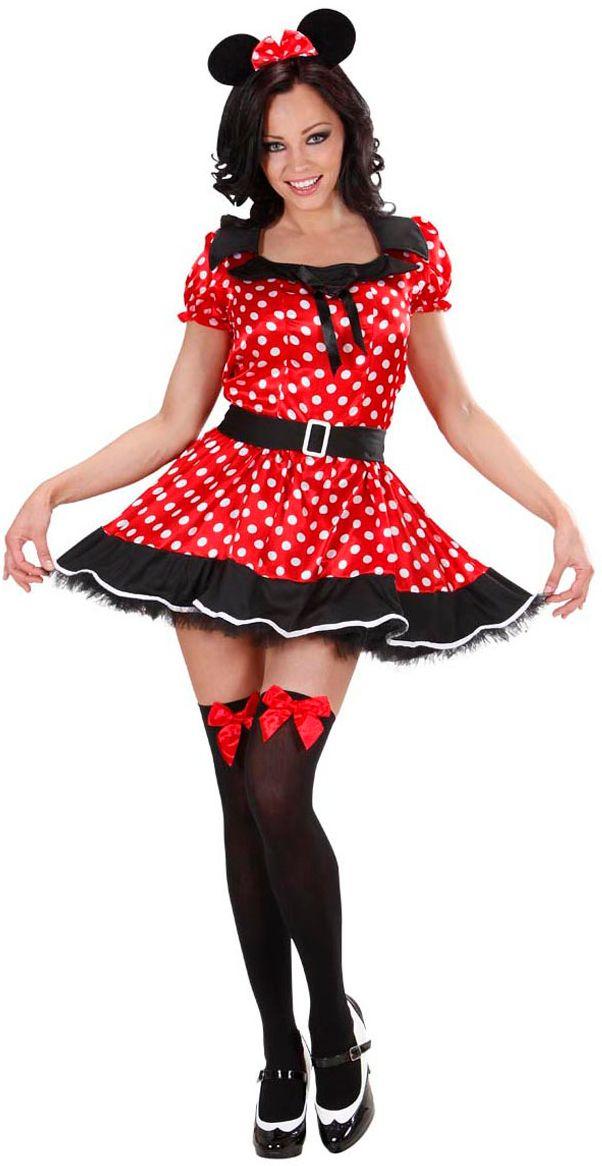 Minnie Mouse dameskostuum