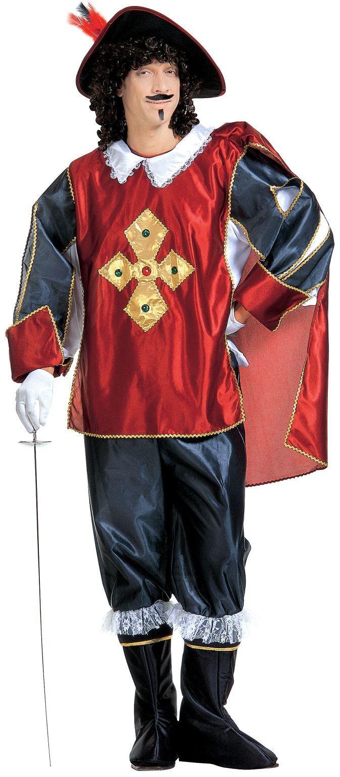 Musketier heren kostuum