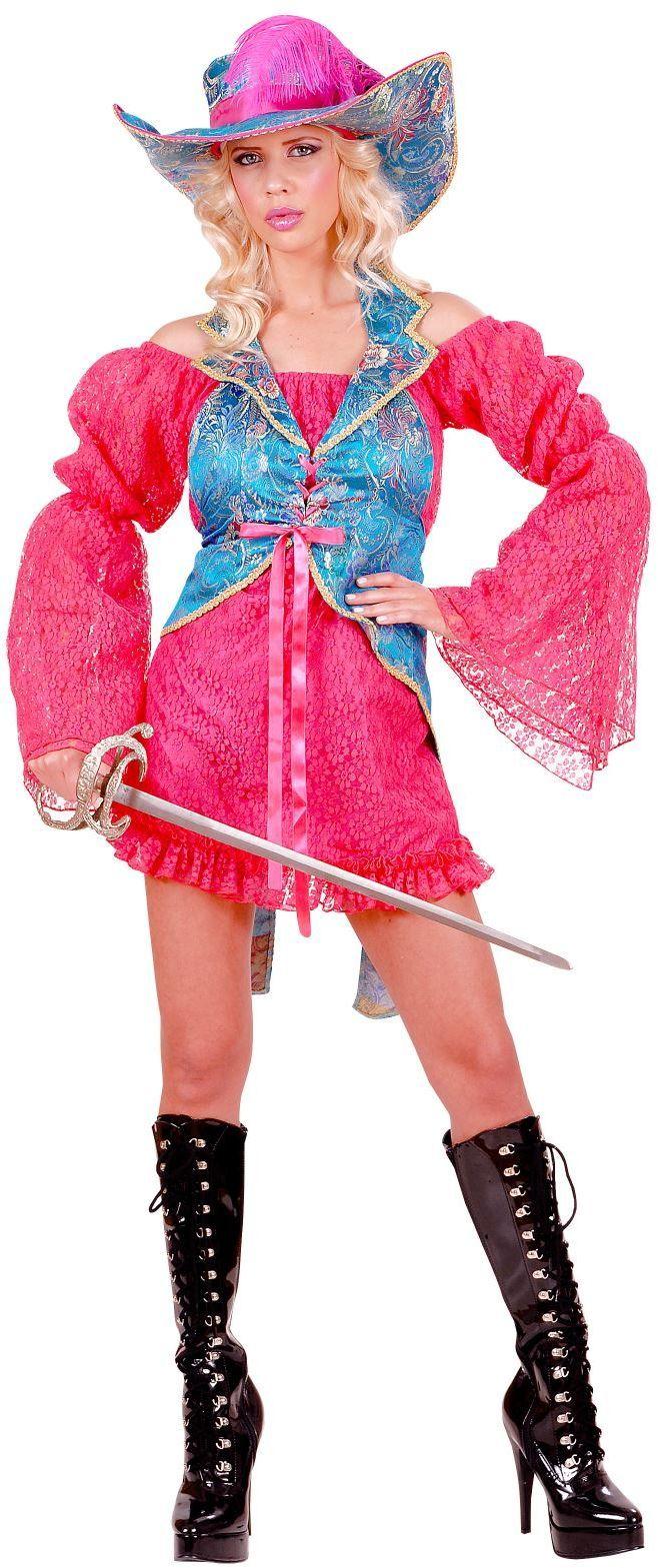 Musketier jurk dames