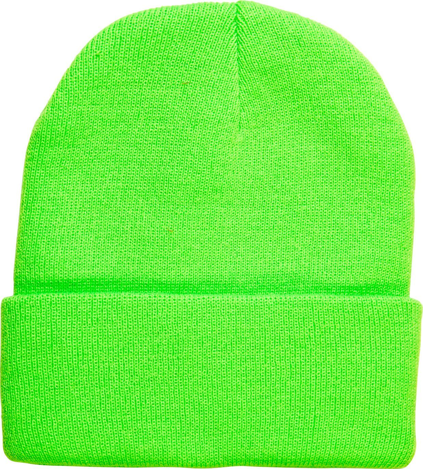 Neon groene 80s muts